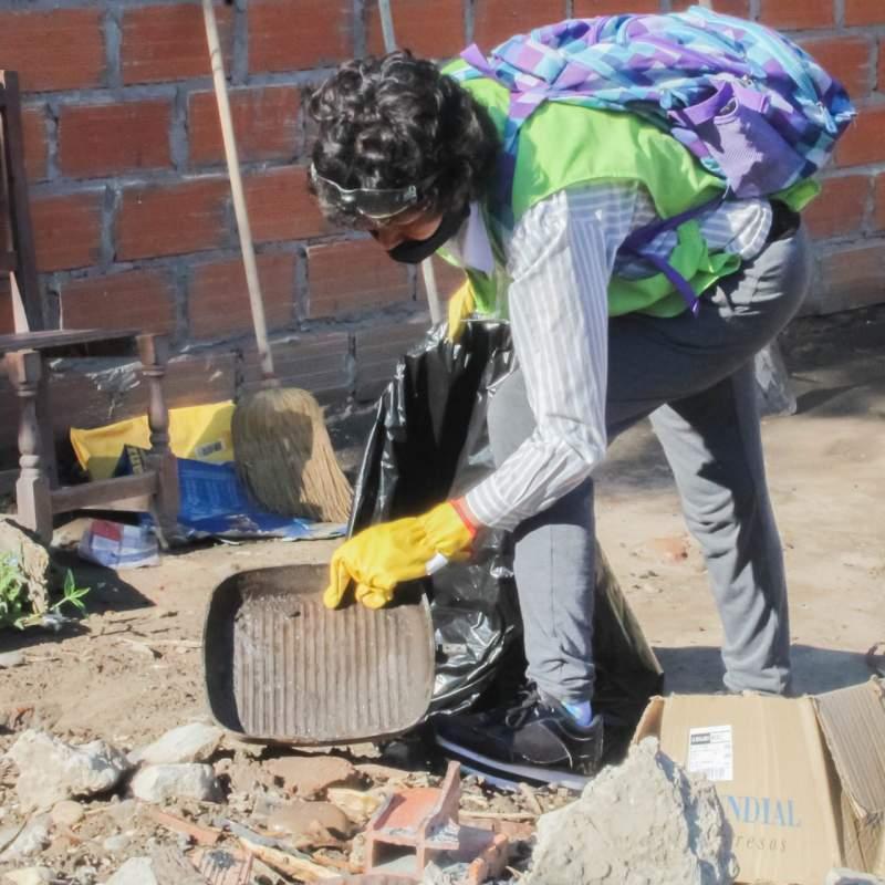La lucha contra el dengue avanza en el Barrio Chatarrero, Zenta y Asucarero